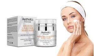Aesthetics Naturals Advanced Retinol Moisturizer (1, 2, or 3-Pack)
