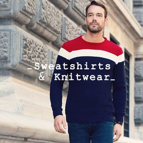 Sweatshirts & Knitwear for Him