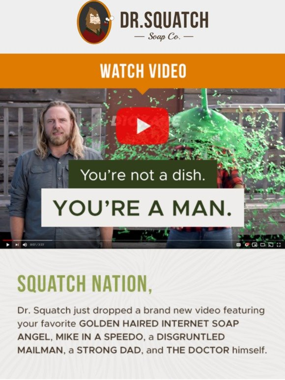 Dr. Squatch: 🎥 NEW VIDEO 🎥 Why play just the tip with