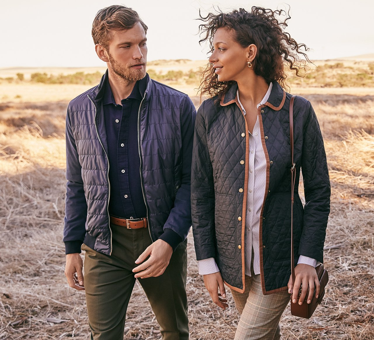 Wardrobe Essentials: Classic Layers - Add a dose of autumnal style with timeless coats for him and her.