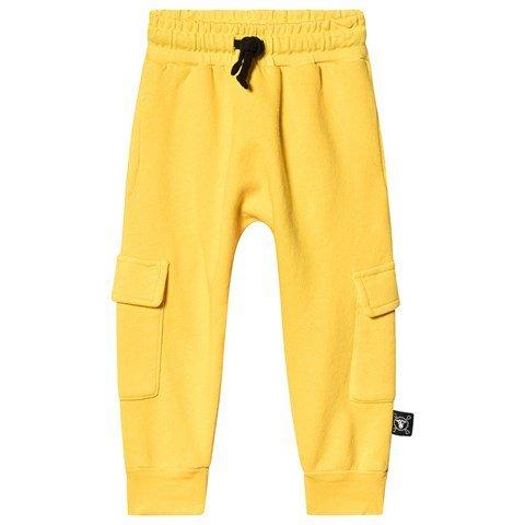 NUNUNU Dusty Yellow Side Pocket SweatpantS