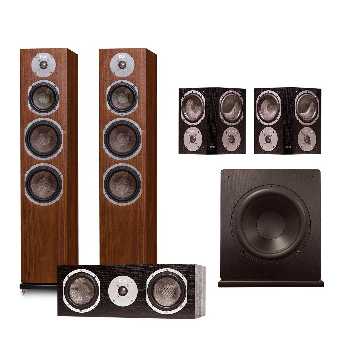 KLH Kendall 5.1 Speaker System (Walnut)