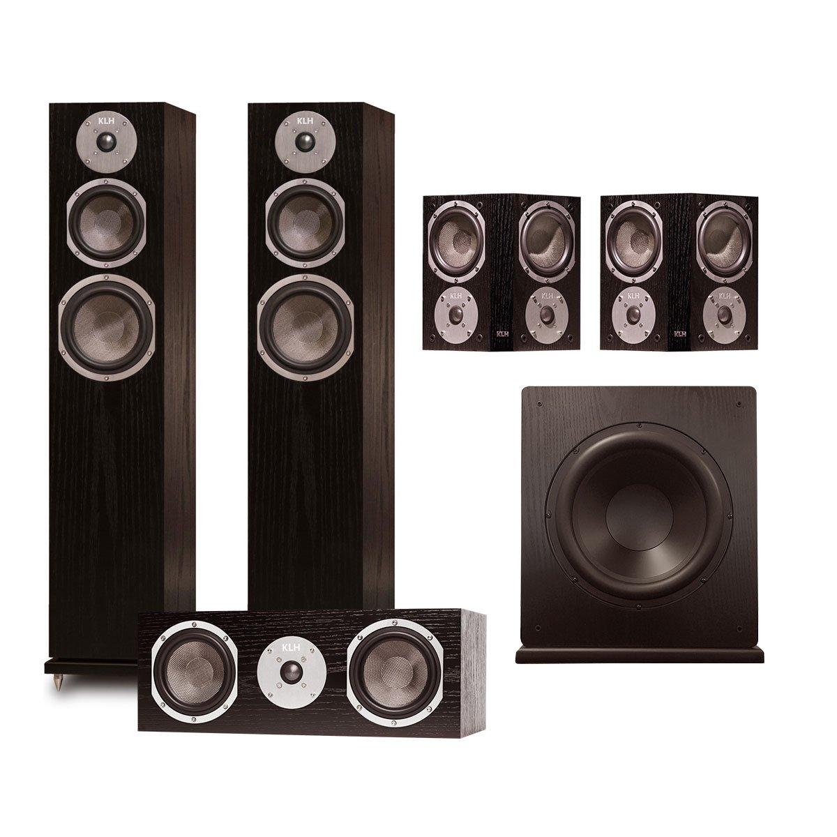 KLH Quincy 5.1 Speaker System (Black Oak)