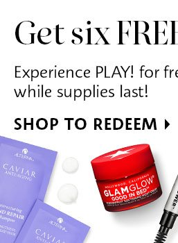 PLAY! Get Six Free Samples