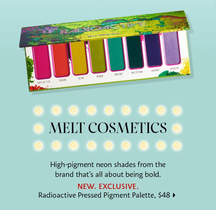 Melt Cosmetics Radioactive Pressed Pigments Palette