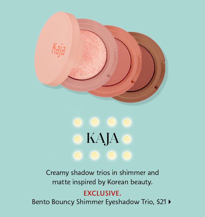 Kaja Bento Bouncy Shimmer Eyeshadow Trio