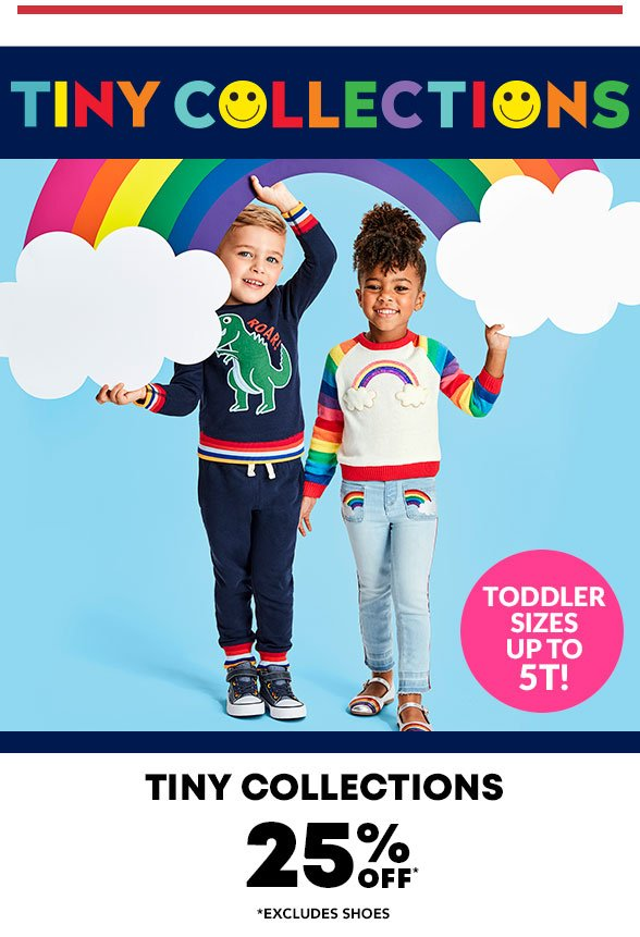 25% Off Tiny Collections