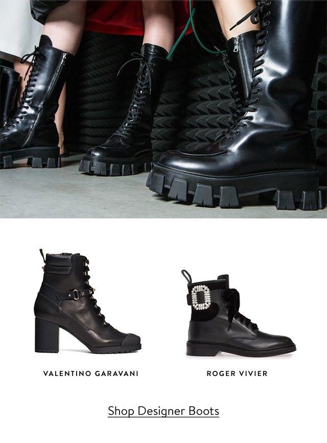 VALENTINO GARAVANI | ROGER VIVIER | Shop Designer Boots