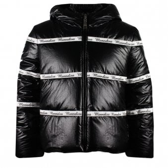 Monnalisa Coat Black