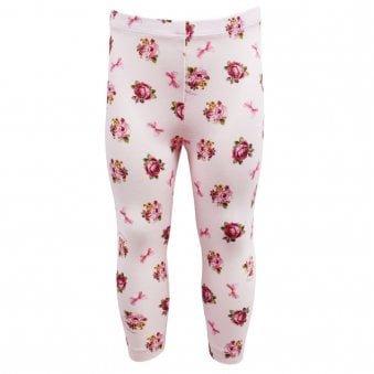 Monnalisa Leggings Pale Pink