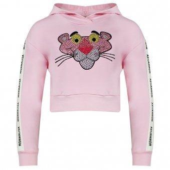 Monnalisa Plush Sweatshirt Pink