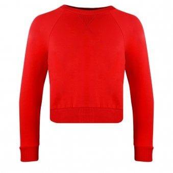 Monnalisa Plush Sweatshirt Red