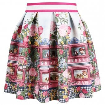 Monnalisa Skirt Multicoloured
