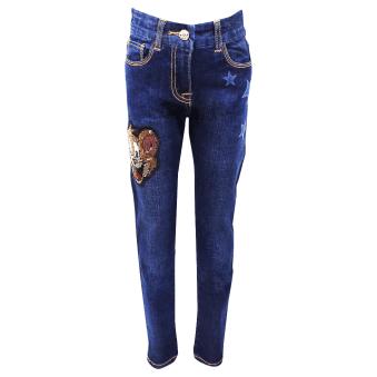Monnalisa Jeans Dark Blue