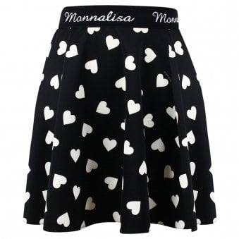 Monnalisa Skirt Black