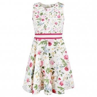 Monnalisa Dress Ivory
