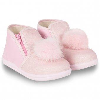 Monnalisa Boots Pink