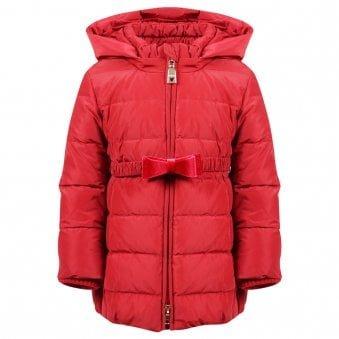 Monnalisa Coat Red