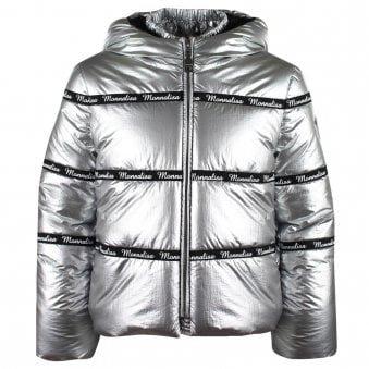 Monnalisa Coat Silver