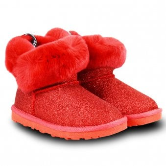 Monnalisa Boots Red