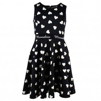 Monnalisa Dress Black