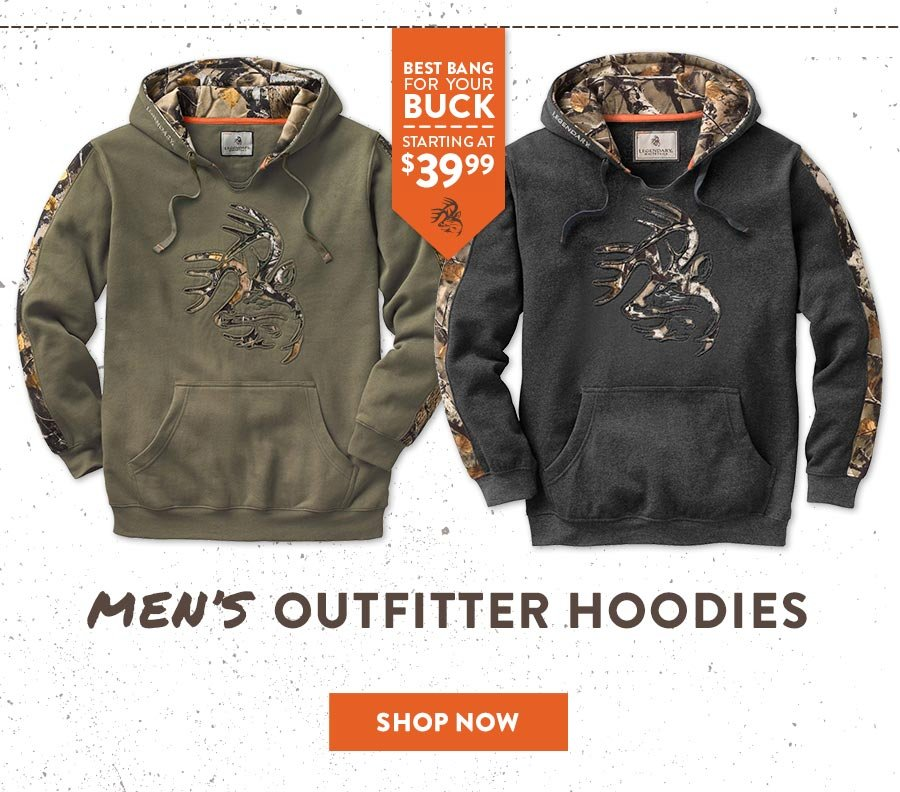 Men's Outfitter Hoodies - Shop now