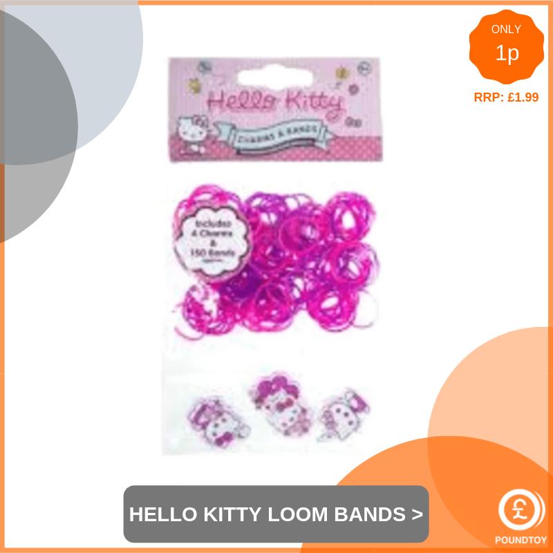 Hello Kitty Loom Band Kit