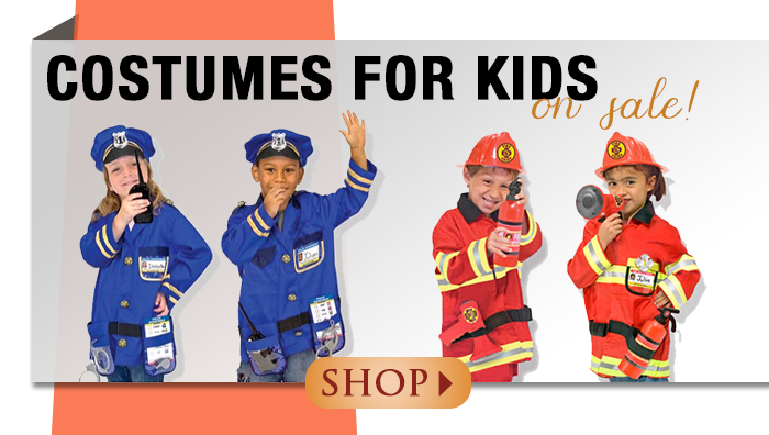 Costumes for Kids on Sale