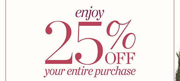 Oops! Sorry if you experienced problems with our site this morning. We're back up and running—and ready to celebrate our Anniversary EVENT! Enjoy 25% off your entire purchase. Shop Now