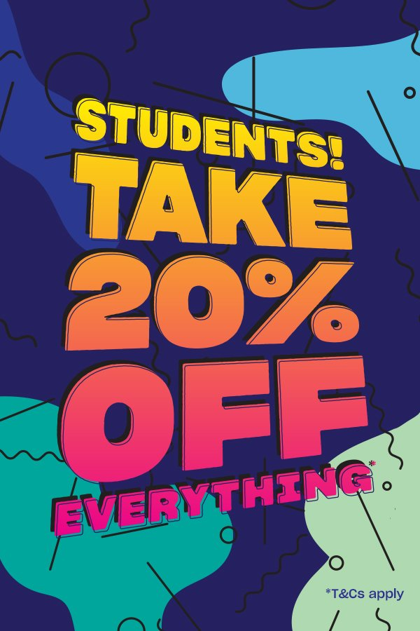 schuh: Students get 20% off at schuh* | Milled