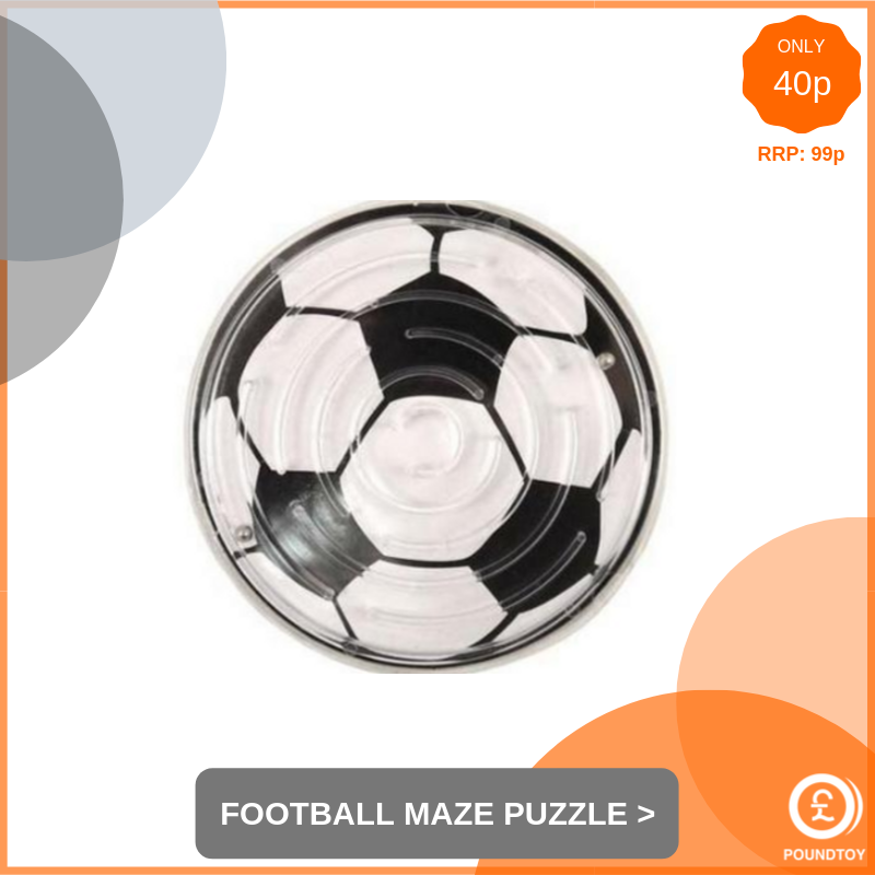 Impossible Football Maze Puzzle