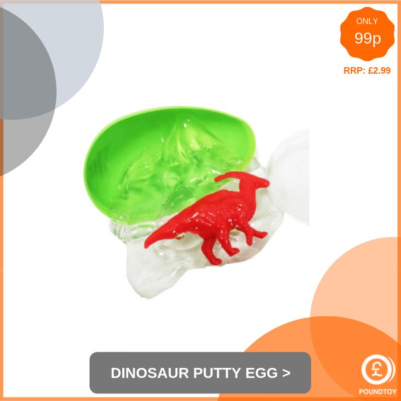 Dinosaur Putty Egg