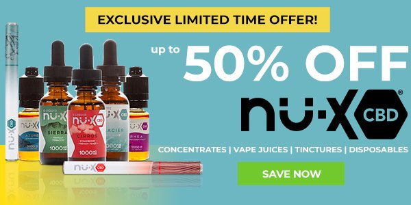 50% off nu-x -eclusive