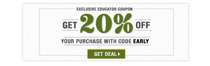 20% off coupon with coupon EARLY