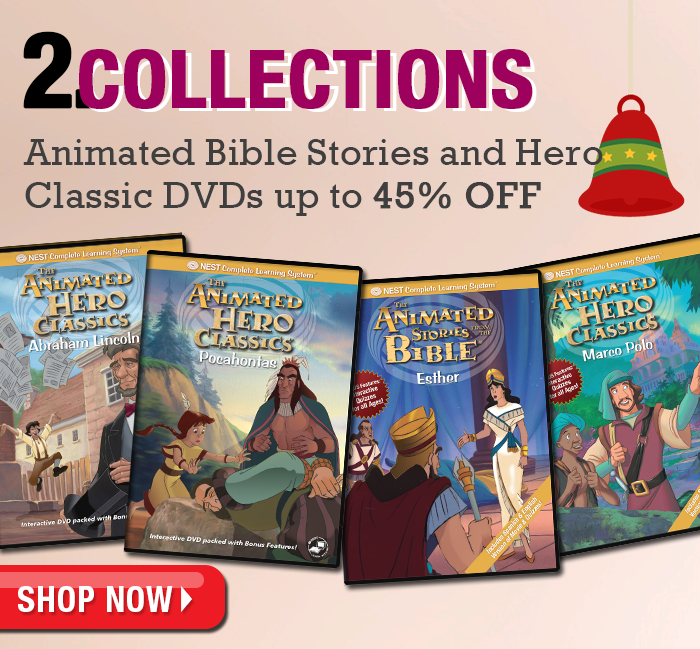 Nest Animated DVD Collections - up to 46% off