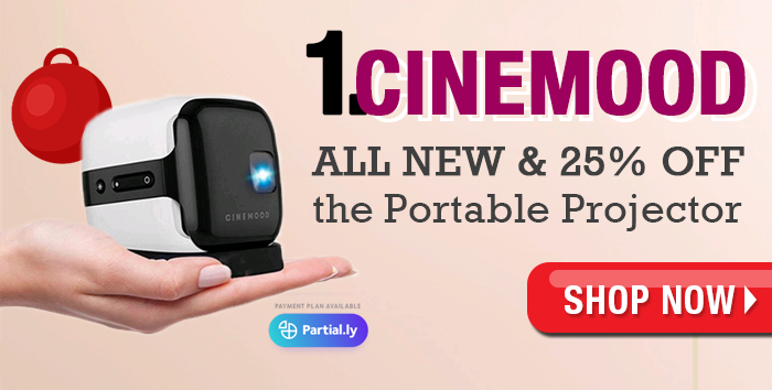 Cinemood Portable Movie Theater – ending soon 25% off