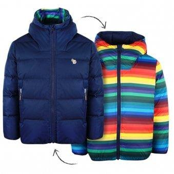 Paul Smith Junior Victorius Jacket Navy & Multicoloured