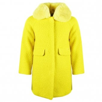 Mayoral Coat Yellow
