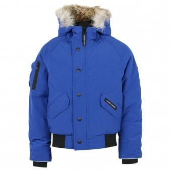 Canada Goose Rundle Bomber Jacket Pacific Blue