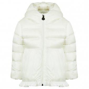 Moncler Odile Jacket White