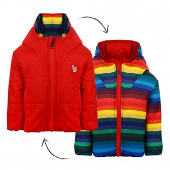 Paul Smith Junior Victorino Jacket Multicoloured
