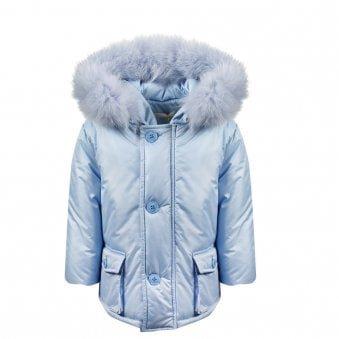 Bimbalo Coat Blue