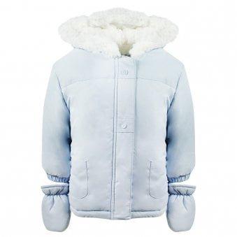 Absorba Coat Blue