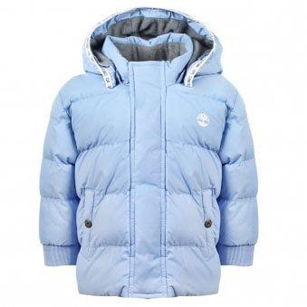 Timberland Puffer Jacket Pale Blue
