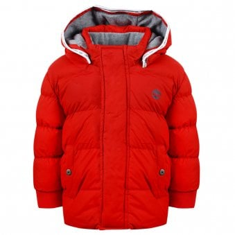 Timberland Puffer Jacket Red