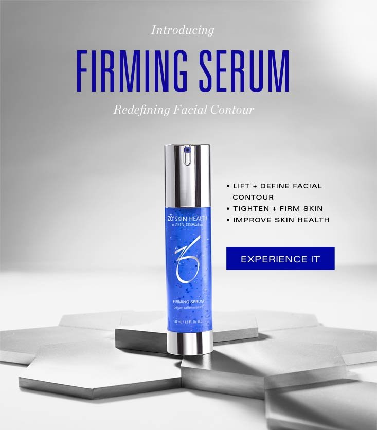 ZO Skin Health : New Firming Serum: See the clinical results | Milled