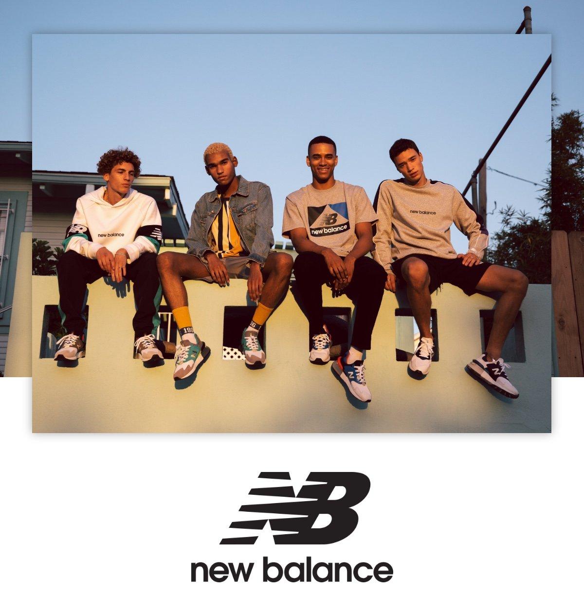 New Balance   Fresh new footwear   Milled