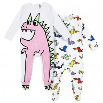 Stella McCartney Babygrow Set White