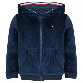 Tommy Hilfiger Zip Up Sweatshirt Navy
