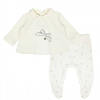 Mayoral Pyjama Set Cream